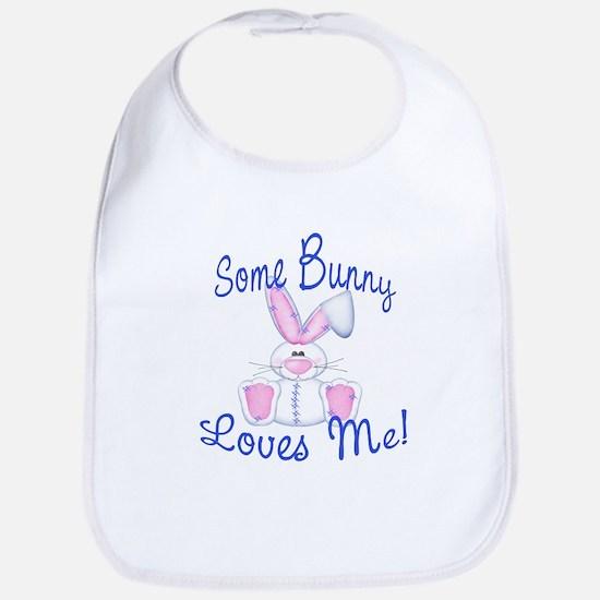 Some Bunny Loves Me! Easter Bib