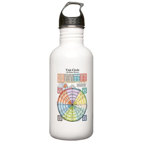 Unit Circle (with Radi Stainless Water Bottle 1.0L
