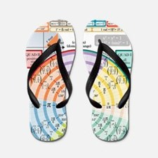 Unit Circle (with Radians) Flip Flops