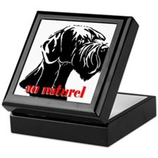 Cute Giant schnauzer Keepsake Box