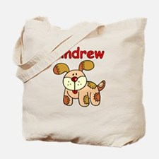 Andrew Puppy Tote Bag