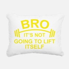 LiftItselfBro1D Rectangular Canvas Pillow