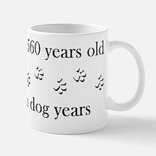 80 birthday dog years 4-1 Mug