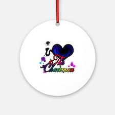 I love The Chairman Round Ornament