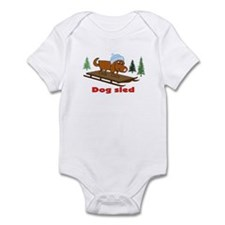 DOG SLED Infant Bodysuit