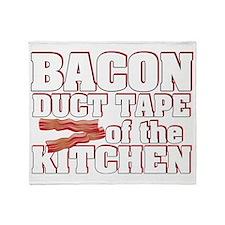 baconduct Throw Blanket