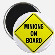 Minions on Board Car Sign Magnet