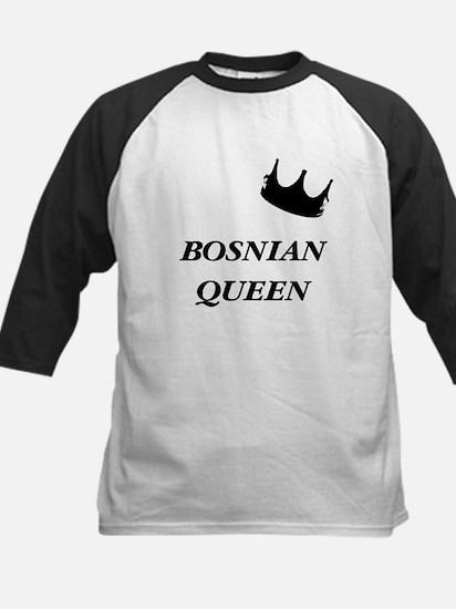 Bosnian Queen Kids Baseball Jersey