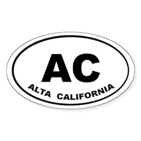 Alta California Auto sticker