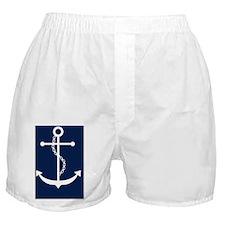 Blue Anchor Boxer Shorts