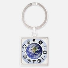 Im a Global Developer Square Keychain