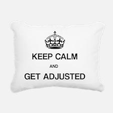Keep Calm Chiro Rectangular Canvas Pillow