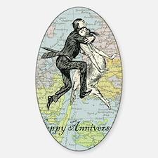 Dancing Anniversary Decal