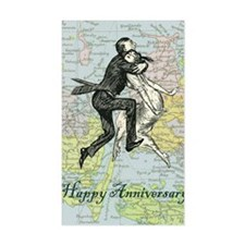 Dancing Anniversary Decal