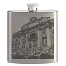 Trevi Fountain Flask