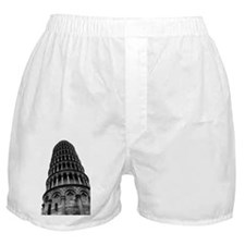 Leaning Tower of Pisa Boxer Shorts