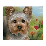 Yorkshire terrier Fleece Blankets