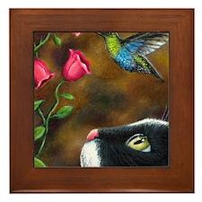 Cat 571 Framed Tile