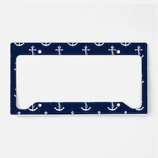 Anchors License Plate Holder