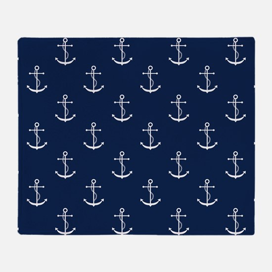 Anchors Throw Blanket