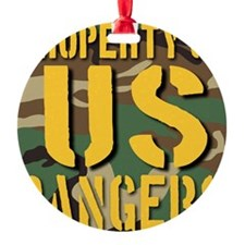 Property of US Rangers Ornament