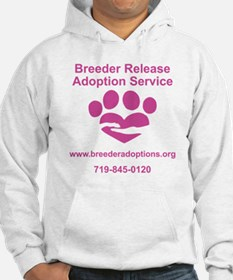 Breeder Release Adoption Service Jumper Hoody
