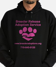 Breeder Release Adoption Service Log Hoodie (dark)