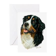 Bernese Mountain Dog 2 Greeting Card