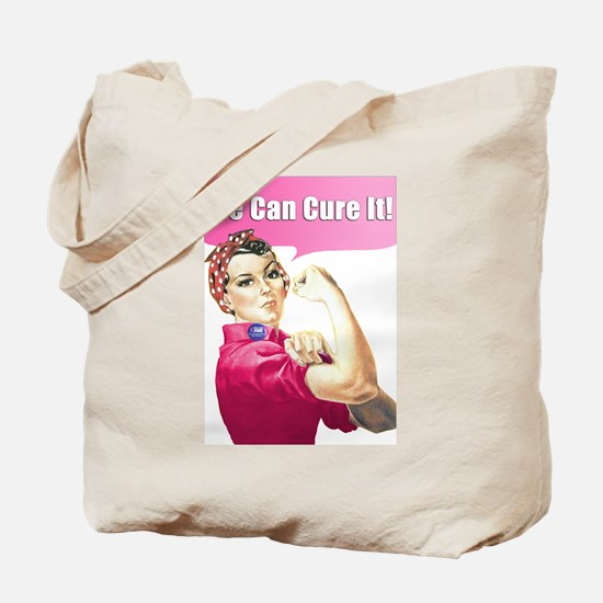 Cute We cure Tote Bag