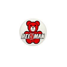Teddy Heisman Mini Button