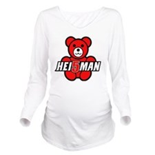 Teddy Heisman Long Sleeve Maternity T-Shirt