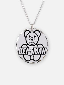 Teddy Black Line Necklace