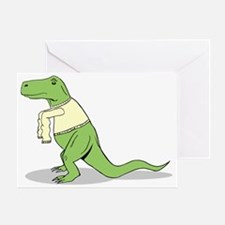 T.Rex Hates Sweaters Greeting Card