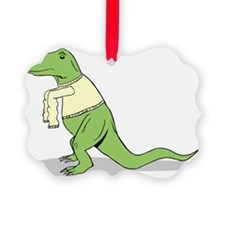 T.Rex Hates Sweaters Ornament