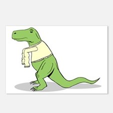 T.Rex Hates Sweaters Postcards (Package of 8)
