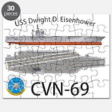 CVN-69 USS Dwight D Eisenhower Puzzle