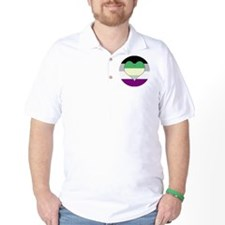 Aromantic Asexual Heart #2 T-Shirt