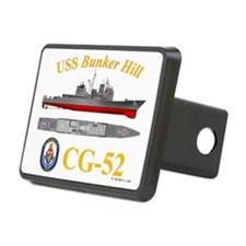 USS Bunker Hill CG-52 Hitch Cover