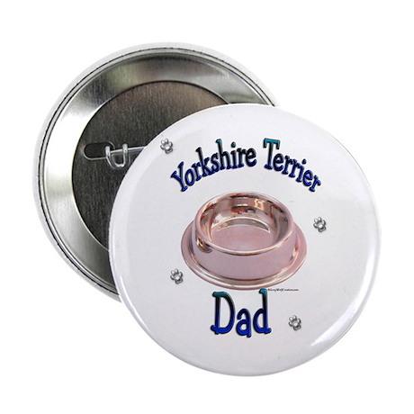 Yorkie Dad Button