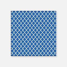 "quatrefoil Square Sticker 3"" x 3"""