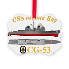 CG-53 USS Mobile Bay Ornament