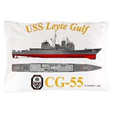 CG-55 USS Leyte Gulf Pillow Case
