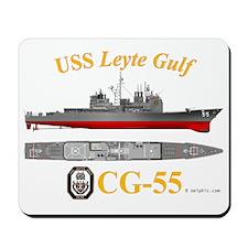 CG-55 USS Leyte Gulf Mousepad