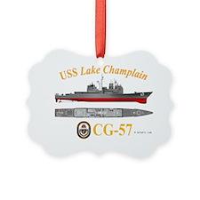 CG-57 USS Lake Champlain Ornament