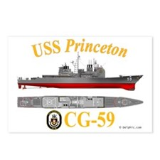 CG-59 USS Princeton Postcards (Package of 8)