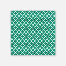 """emeraldq Square Sticker 3"""" x 3"""""""