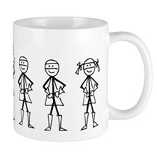 Super Family 2 Boys 1 Girl Mug