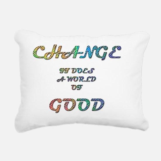 Change Rectangular Canvas Pillow