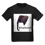 elephant5 Kids Dark T-Shirt
