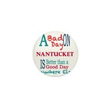 Nantucket Mini Button
